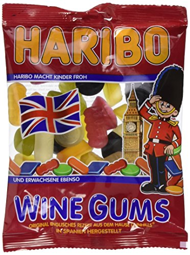 Haribo Wine gums, 20er Pack (20 X 200 g)