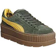 puma suede creepers nere