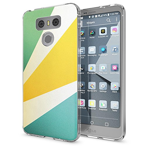 NALIA Handyhülle kompatibel mit LG G6, Motiv Design Ultra-Slim Silikon Case Cover, Crystal Schutzhülle Handy-Tasche Dünn, Muster Etui Backcover Hülle Smart-Phone Bumper, Designs:Retro