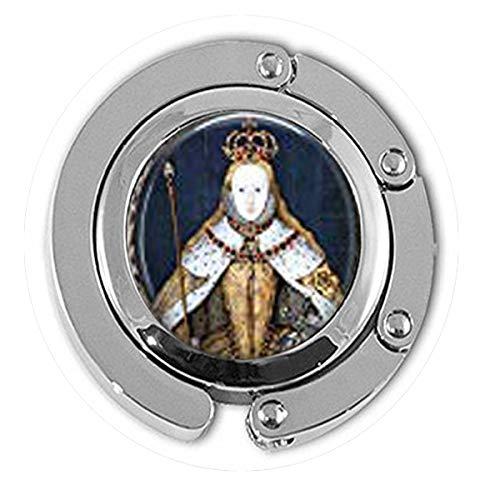 Queen Elizabeth I in her Coronation Robes British Monarch - Queen Elizabeth Big Ben - Great Britain Memento Hanger Literary Jewelry