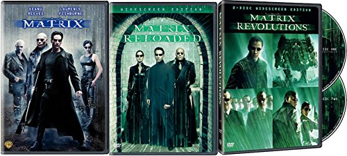 The Matrix Trilogy: The Matrix, Matrix Reloaded (2-Disc Set) & Matrix Revolution (Two-Disc Set) 5-DVD Bundle