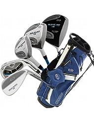 US Kids Golf USKG Tour Series TS 63-43 Komplettset (10 teilig STAHL) PVD Finish, Complete Set, 10 parts, steel, perfect golf clubs for kids, golfschläger für kinder/jugendliche