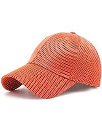 7bc7325e52cc4 Taihang Sombreros de béisbol de poliéster para Mujer para Hombre Malla  Transpirable Deporte al Aire Libre