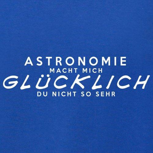 Astronomie macht mich glücklich - Herren T-Shirt - 13 Farben Royalblau