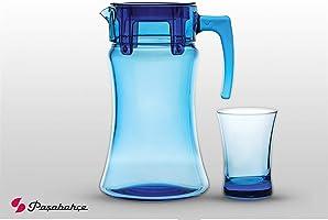 Paşabahçe 96339 Azur Su Bardağı Takımı, 7 Parça