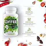 Cafe Verde Puro - Suplemento De Café Verde Para Adelgazar - Ayuda A Perder Peso Y a Quemar Grasa De Forma Eficaz - Café Verde Natural - 90 Cápsulas