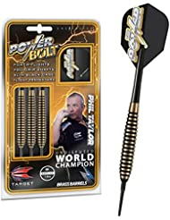 SOFT TIP 18g TARGET PHIL TAYLOR POWER BOLT DARTS SET SOFTIP by PerfectDarts