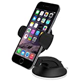 ULTRICS� Universal In Car Windscreen Mount Suction Holder Cradle For Mobile iPhone GPS MP4, Universal Car Vehicle Truck Van and Desktop Mount and Holder for Mobile Phones, GPS PDA PSP Apple iPhone iPod MP3 MP4 / Sat Nav (Garmin, TomTom GPS units), HTC, Nokia Lumia, Samsung Galaxy, Motorola Moto G etc. Fully Adjustable Suction Mount