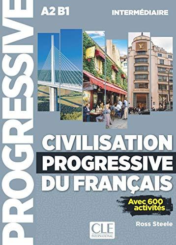Civilisation progressive du français - Niveau intermédiaire - Livre + CD - 2ème édition