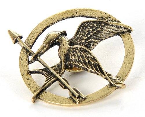 (Die Tribute Von Panem Spotttölpelbrosche Katniss Everdeen Pin Bogen Brosche Anstecker Bronze)