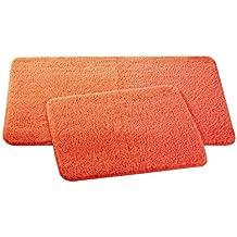 Suchergebnis Auf Amazon De Fur Microfaser Badematte Orange