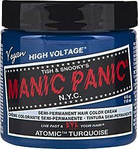 Manic Panic Classic Semi-Permanent Hair Dye 118ml (Atomic Turquoise)
