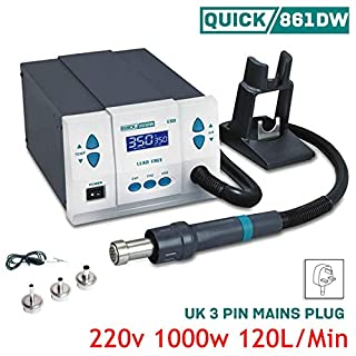 Quick 861DW SMD Soldering Intelligent Hot air Lead-Free 1000W Digital Rework Station