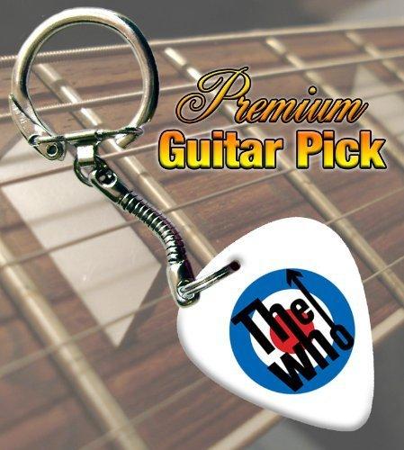 the-who-target-premium-guitar-pick-keyring