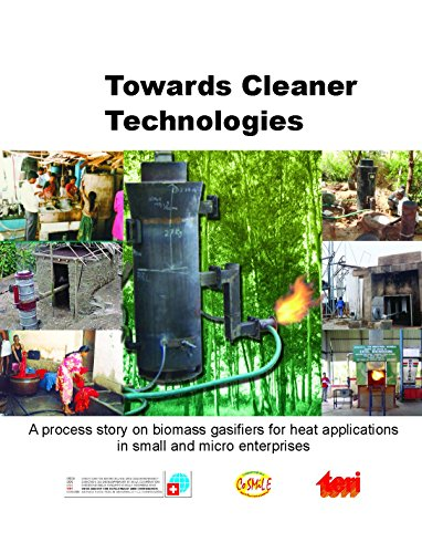 Towards Cleaner Technologies:  a process story on biomass gasifiers for heat applications in small and micro enterprises (English Edition)