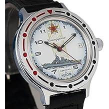 Vostok # 921428KOMANDIRSKIE mecánico automático ruso muñeca reloj 2416b