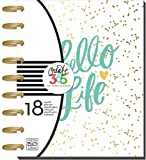 Me and My Big Ideas Create 365 18-Month Planner 7.75-inch x 9.5-inch-Hello Life