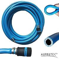 Sicherheits Druckluftschlauch Set + Normfest Sicherheits Kupplung Auswahl: (10m Meter, Innen Ø 13mm)