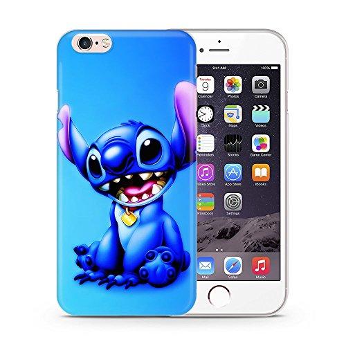 Silikon Lilo & Stitch Telefon Hülle/Case Gel TPU Abdeckung für iPhone 5 / 5s / SE mit Display Schutz / EJC Avenue / Umarmung Lächeln