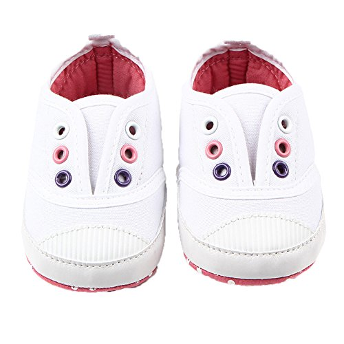 Fire Frog  Baby Spring and Autumn Shoes, Baby Jungen Lauflernschuhe Weiß