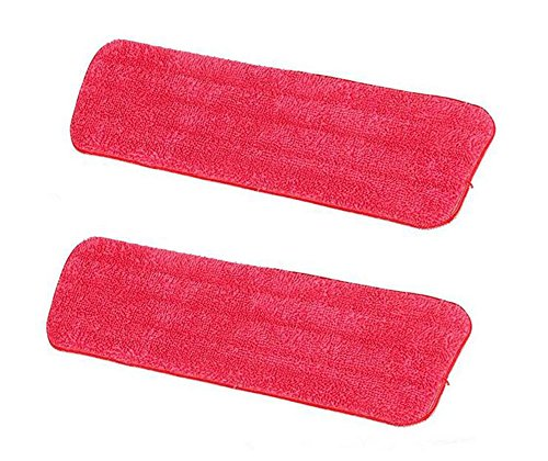 hosaire-2-pcs-red-mop-refill-mop-replacement-cleaning-pads-reveal-mop-household-mop-microfiber-stick
