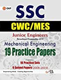 SSC Junior Engineers (CPWD/CWC/MES) Mechanical Engineering 19 Practice Sets & 9 Solved Papers 2008-2015
