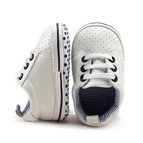 Igemy 1Paar Kleinkind Mädchen Jungen bis Krippe Schuhe Prewalker Soft Sohle Sneakers (11)