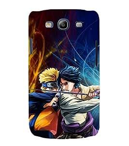 printtech Naruto Anime Fighter Cartoon Back Case Cover for Samsung Galaxy S3 / Samsung Galaxy S3 i9300
