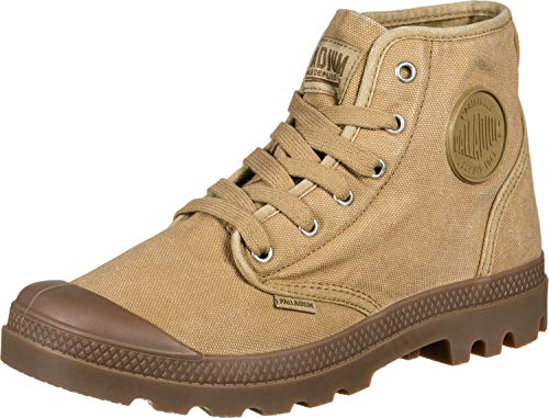 Palladium Herren Us Pampa High H Hohe Sneaker, Braun (Woodlin T41), 42.5 EU