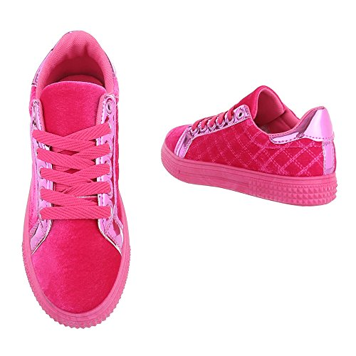 Ital-Design - Low-top Donna Pink