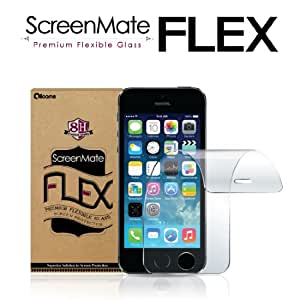 iloome iPhone 5 / 5S / 5C ScreenMate Flex Flexible Glass 8H Hardness Premium Screen Protector with Oleophobic Coating