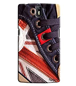 Clarks Printed Designer Back Cover For OnePlus One