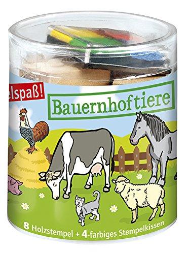 Moses 26805 - Stempelbox Bauernhoftiere