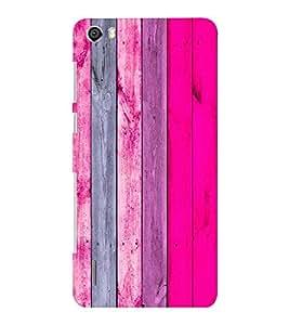 EPICCASE Pink wood Mobile Back Case Cover For Huawei Honor 6 Plus (Designer Case)