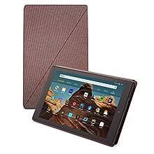 Fire HD 10-Tablet Hülle (kompatibel mit Tablets der 9. Generation, 2019), Lila