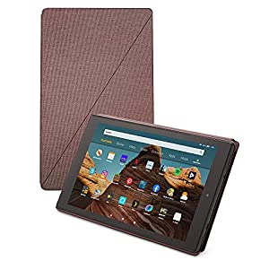 Fire HD 10-Tablet Hülle (kompatibel mit Tablets der 9. Generation, 2019), Lila