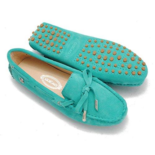 Meijili , Sandales Plateforme femme vert clair