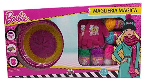 Grandi giochi gg00520, maglieria magica di barbie