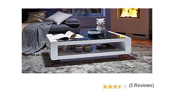 Couchtisch Weiß Hochglanz Mit Glasplatte Soleil 140x80cm ... 20 Beispiele Wohnzimmertisch Aus Acryl