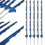 True Products b1012j-50Stangen Kunststoff Poly Elektrische Zaun Pfosten Pferd Pferdekoppel, blau, von 50Stück