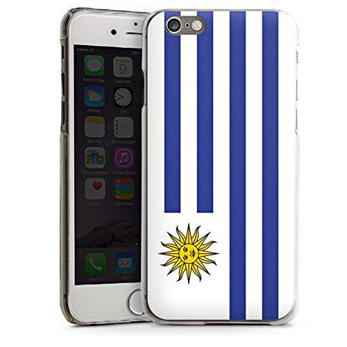 Apple iPhone 5s Housse Étui Protection Coque Uruguay Drapeau Ballon de football CasDur transparent