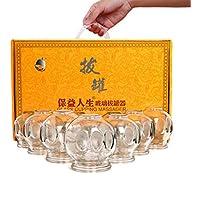 Kays Schröpfen Set 24 Glas Schröpfen Gerät Tassen, Chinesische Schröpfen Therapie-Set, Für Rücken/Nackenschmerzen... preisvergleich bei billige-tabletten.eu