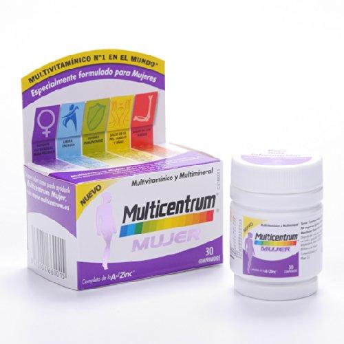 Multicentrum Mujer Vitaminas Y Minerales 30 Comprimidos