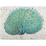 Creative Tops paon Premium de sets de table Dessous en liège, Lot de 4, multicolore