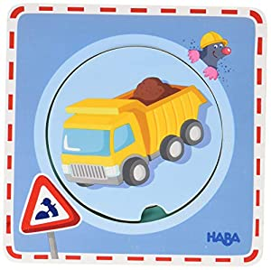 HABA 301648 Juguete de Habilidad motora Multicolor Madera contrachapada - Juguetes de Habilidades motoras (Multicolor, Madera contrachapada, Child, Niño/niña, 1 año(s), 300 g)
