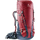 Deuter Guide Alpin-Rucksack, Cranberry-Navy, 74 x 28 x 22 cm, 45 + 8 L