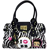 Betty Boop On Safari Women's Print Handbag