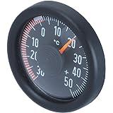 HR iMotion 10010201termómetro para coche, hogar, camping, etc. (para uso en interior y exterior | autoadhesivo de fijación | fabricado en Alemania–30°C–+ 50°C]