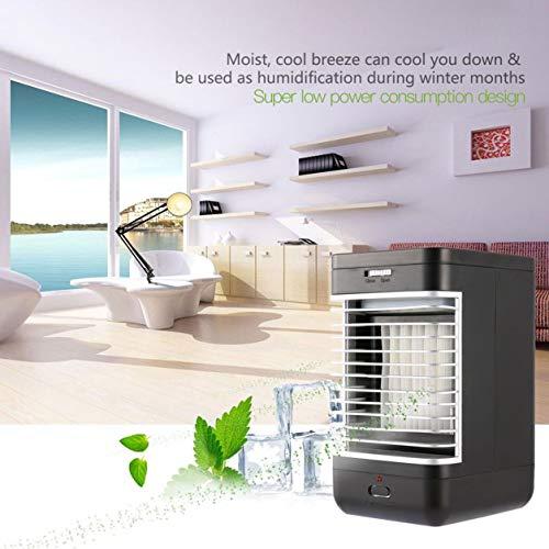 Dailyinshop Cool-down Evaporative Luftkühler Indoor Tragbare Kühler mit leiser 2-Speed-Fan