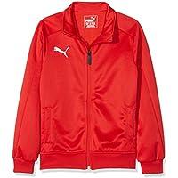 Puma Liga Casuals Track Top Jr Top, Primavera/Verano, Infantil, Color Red White, tamaño 128